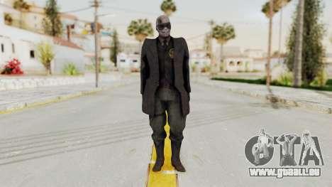 MGSV Phantom Pain SKULLFACE No Hat für GTA San Andreas zweiten Screenshot