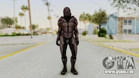 Mass Effect 3 Collector Male Armor pour GTA San Andreas deuxième écran