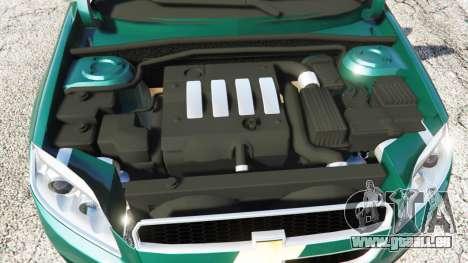 GTA 5 Chevrolet Captiva 2010 droite vue latérale