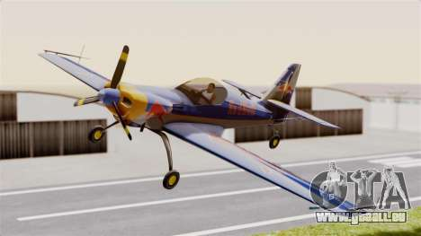 Zlin Z-50 LS Redbull pour GTA San Andreas sur la vue arrière gauche