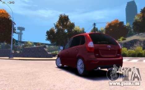 Lada Kalina 2 für GTA 4 linke Ansicht