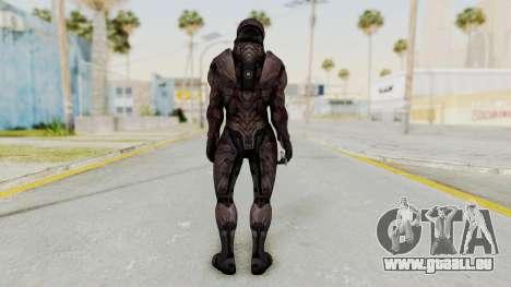 Mass Effect 3 Collector Male Armor pour GTA San Andreas troisième écran
