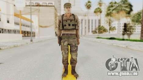 MGSV Phantom Pain Rogue Coyote Soldier Shirt v1 pour GTA San Andreas deuxième écran