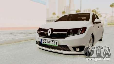 Renault Symbol 2015 pour GTA San Andreas
