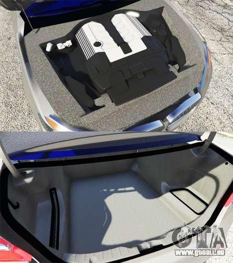 GTA 5 BMW 750Li xDrive (G12) 2016 vorne rechts Seitenansicht