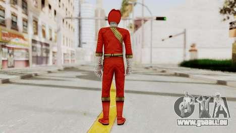 Power Rangers Wild Force - Red für GTA San Andreas dritten Screenshot