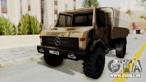 Mercedes-Benz Vojno Vozilo für GTA San Andreas
