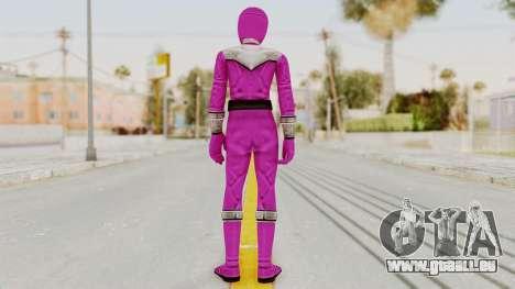 Power Rangers Time Force - Pink für GTA San Andreas dritten Screenshot