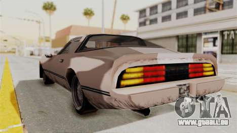 Beta VC Phoenix pour GTA San Andreas laissé vue
