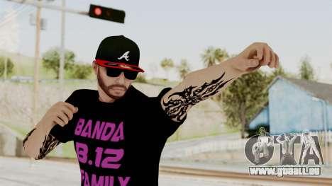 Banda 12 Skin für GTA San Andreas