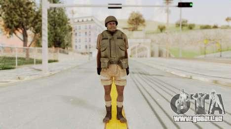 MGSV Phantom Pain CFA Vest v1 für GTA San Andreas zweiten Screenshot