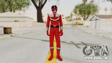 Power Rangers Time Force - Red pour GTA San Andreas deuxième écran
