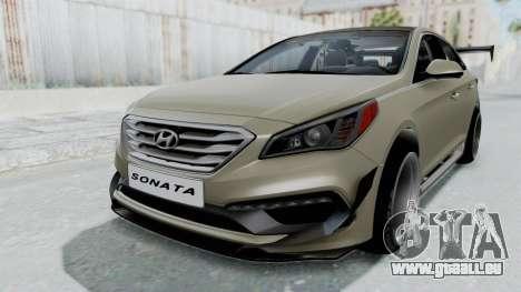 Hyundai Sonata LF 2.0T 2015 v1.0 Rocket Bunny für GTA San Andreas