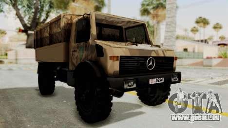 Mercedes-Benz Vojno Vozilo für GTA San Andreas rechten Ansicht