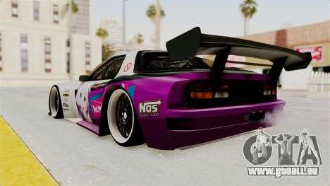 Mazda RX-7 FC Itasha für GTA San Andreas linke Ansicht