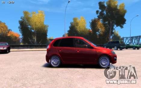 Lada Kalina 2 pour GTA 4 Vue arrière de la gauche