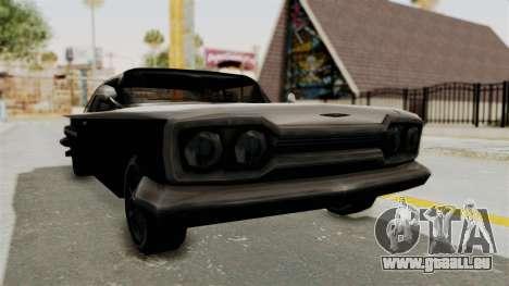 Voodoo Limited Edition pour GTA San Andreas vue de droite