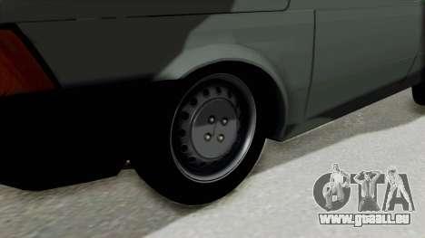 Fiat 147 Vivace pour GTA San Andreas vue arrière