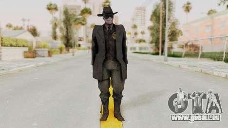 MGSV Phantom Pain SKULLFACE pour GTA San Andreas deuxième écran