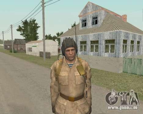 Les soldats soviétiques pour GTA San Andreas