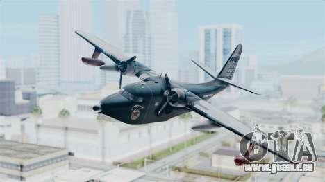 Grumman HU-16 Albatross für GTA San Andreas zurück linke Ansicht