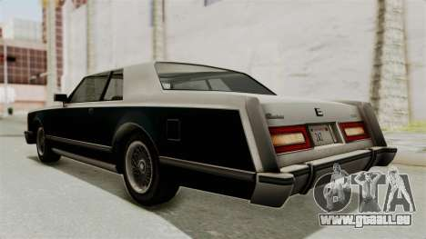 GTA 5 Dundreary Virgo SA Lights pour GTA San Andreas sur la vue arrière gauche
