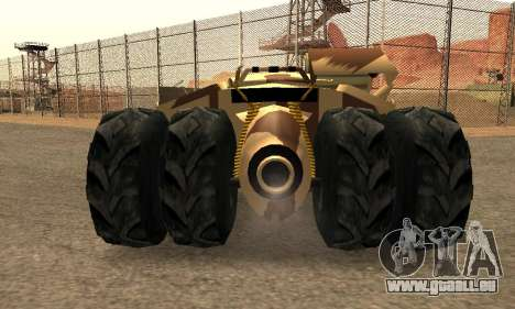 Army Tumbler Rocket Launcher from TDKR pour GTA San Andreas salon
