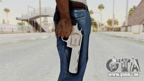 Colt .357 Silver pour GTA San Andreas troisième écran