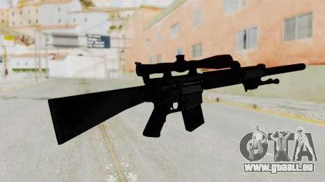 SR-25 pour GTA San Andreas deuxième écran