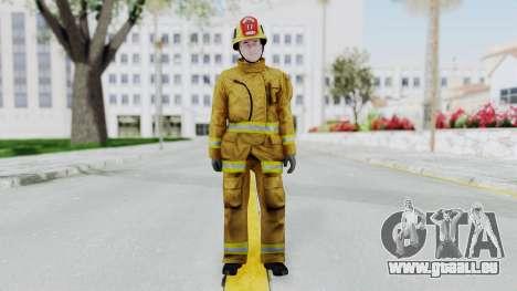 GTA 5 Fireman LV für GTA San Andreas zweiten Screenshot