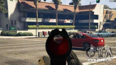 GTA 5 Steyr AUG A1 sixième capture d'écran