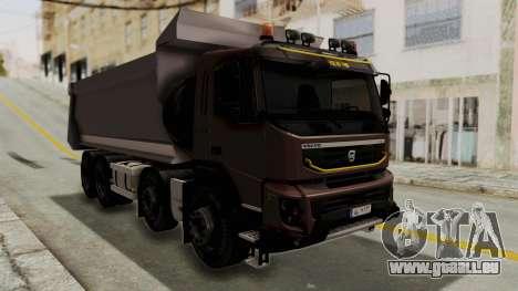 Volvo FMX Euro 5 8x4 v1.0 pour GTA San Andreas vue de droite