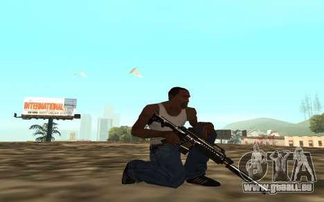 Golden weapon pack für GTA San Andreas sechsten Screenshot