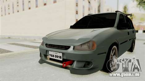 Chevrolet Corsa Wagon Tuning pour GTA San Andreas sur la vue arrière gauche