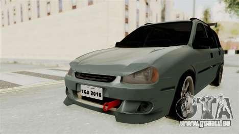 Chevrolet Corsa Wagon Tuning für GTA San Andreas zurück linke Ansicht