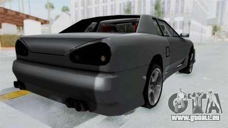 Elegy v2 pour GTA San Andreas laissé vue