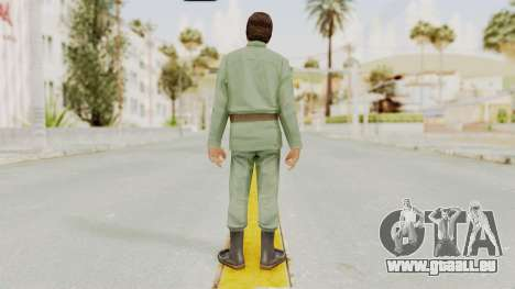 Scarface Tony Montana Army Costume pour GTA San Andreas troisième écran