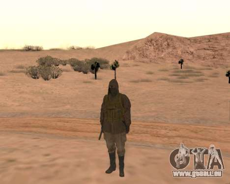 Soviet Sniper pour GTA San Andreas cinquième écran