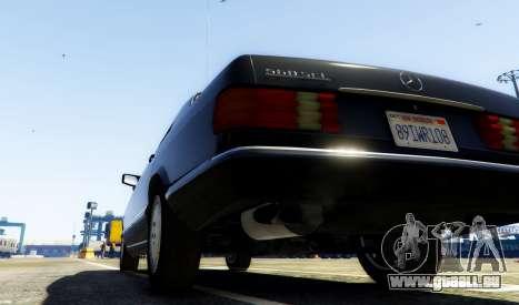 GTA 5 1987 Mercedes-Benz 560SEL hinten links Seitenansicht