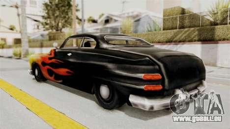 Beta VC Cuban Hermes pour GTA San Andreas laissé vue