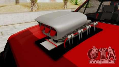 Chevrolet Chevette SL 1988 Monster Truck für GTA San Andreas Innenansicht