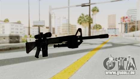 M16 Sniper pour GTA San Andreas