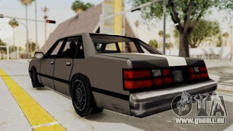 Stanier Turbo pour GTA San Andreas laissé vue