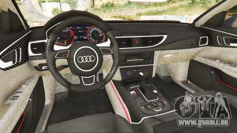 GTA 5 Audi A7 2015 hinten rechts
