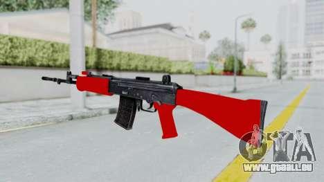 IOFB INSAS Red pour GTA San Andreas deuxième écran