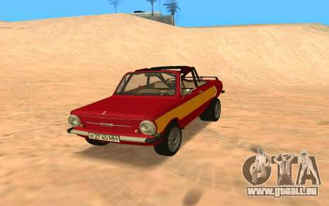 ЗАЗ-968 Offroad Style pour GTA San Andreas
