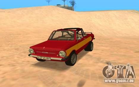 ЗАЗ-968 Offroad-Stil für GTA San Andreas