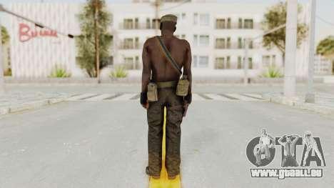 MGSV Phantom Pain Rogue Coyote Soldier Naked v2 für GTA San Andreas dritten Screenshot