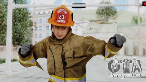 GTA 5 Fireman LS für GTA San Andreas