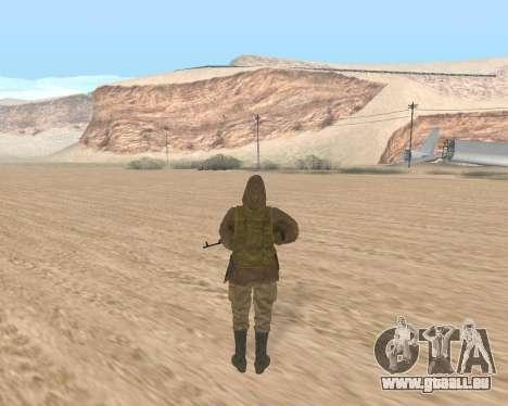 Soviet Sniper pour GTA San Andreas deuxième écran